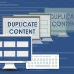 Что приводит к дублированию контента?