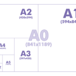 Формат бумаги, размеры А0, А1, А2, А3, А4, А5, А6